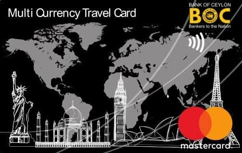OFFICIAL INTERNATIONAL TRAVEL CARD PARTNER-BOC